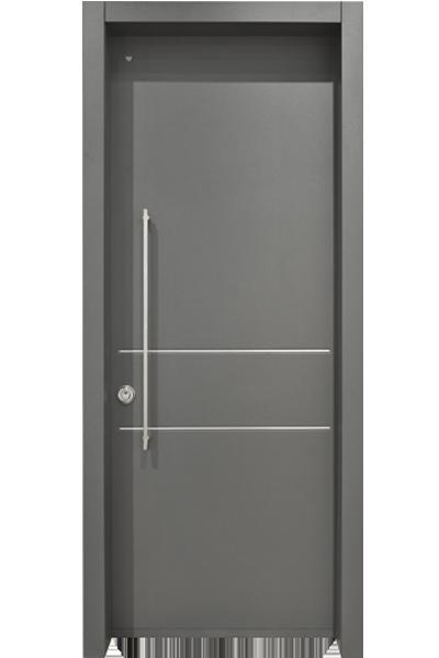 משהו רציני דלת פלדלת מדגם דואיי: יופי וביטחון בדלת הכניסה - רב בריח JM-15
