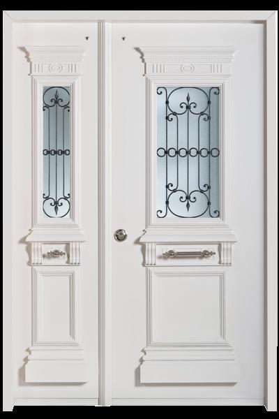 מותג חדש דלתות כניסה מעוצבות | דלתות חוץ | רב בריח LW-32