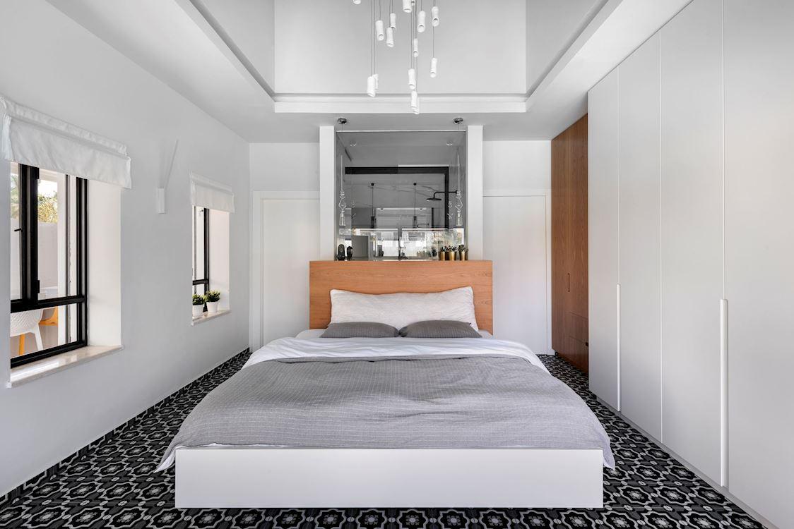 """עיצוב חדר שינה ע""""י האדריכלית קרן סלינס סייג"""