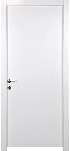 דלת פנים צבע בגוון לבן