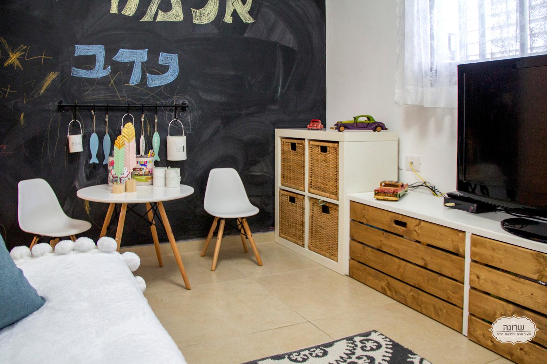 דוגמה לחדר ילדים מעוצב על ידי שרונה