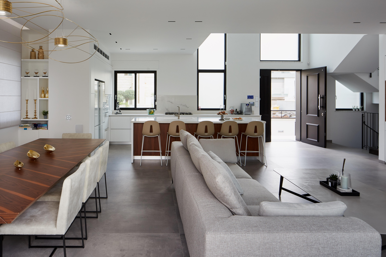 עיצוב הסלון – ענבל חן – רב בריח