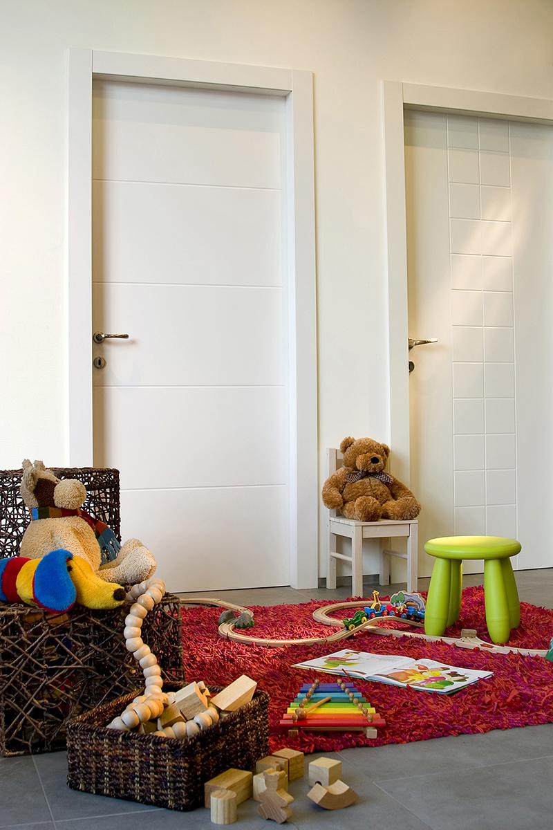 דלתות לחדרי ילדים נגד מים וטריקה שקטה-רב-בריח