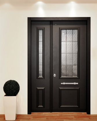 עדכני דלת פלדלת מדגם פירנצה - רב בריח UE-68