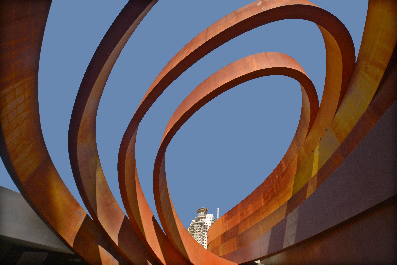 פרט מתוך מוזיאון העיצוב חולון. צילום: shutterstock.com